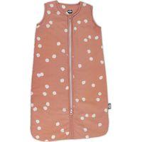 Briljant Baby Winterslaapzak Maat 110 Spots - Grey Pink