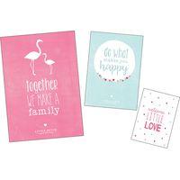 Little Dutch Set Poster en Kaartjes Pink