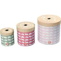 Done By Deer Round Box Set - Roze