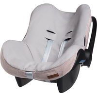 Baby's Only Autostoelhoes Maxi-Cosi 0+ Sparkle - Zilver-Roze Mêlee