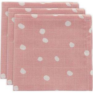 Little Lemonade Hydrofiel Monddoekje Dots - Pink
