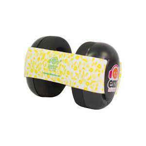 Em's 4 Bubs Gehoorbeschermers - Black Lemon Floral