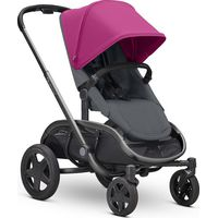 Quinny Hubb Kinderwagen Mono - Pink On Graphite