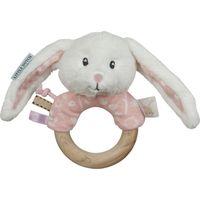 Little Dutch Rammelaar Met Houten Ring - Adventure Pink