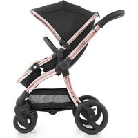 EGG Wandelwagen Diamond Black / Rose Gold Frame