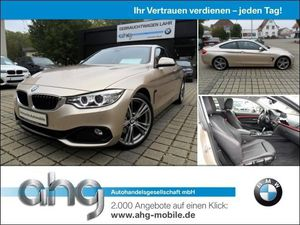 BMW 425 d Coupe Sport Line Aut. Navi Pro Head-Up AHK Klima