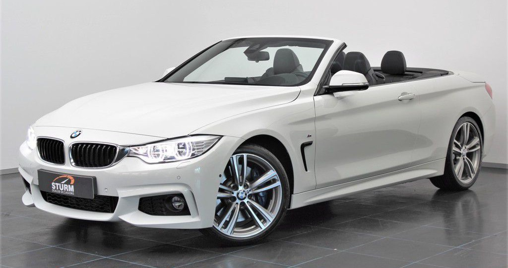 BMW 4 Serie Cabrio 428i High Executive M Sport | Head-Up Display | M Sportremmen | Harman/Kardon | 19'' Velgen | LED | NL-Auto | Full-Option | Rijklaarprijs!