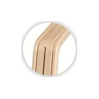 Nomi Stem (poot) - Oak / Beech White Oiled