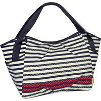 Lässig Verzorgingstas Casual Twin Bag Striped - Zigzag Navy (UL)