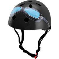 Kiddimoto Helm Black Goggle M