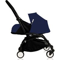 Yoyo+ Black Frame met Newborn Pack - Blue Air France