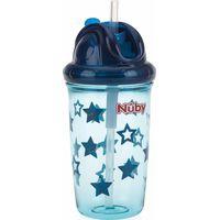 Nuby Flip-It Antilekbeker Met Flip Dop En Rietje - Stars