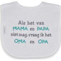 Funnies Slab Als het van Mama en Papa niet mag, vraag ik Oma en Opa