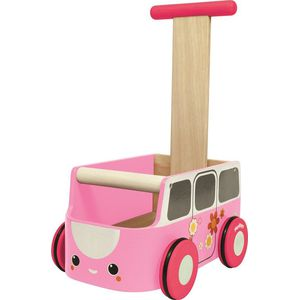 Plan Toys Van Walker Pink