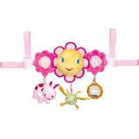 Bright Starts Hop Along Carrier Toy Bar Autospeeltje - Pretty In Pink