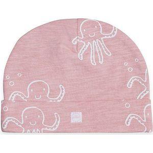 Jollein Mutsje 6-12 maanden - Octopus Pink