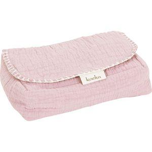 Koeka Hoes voor Babydoekjes Elba Water Pink