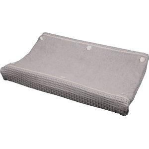 Koeka Aankleedkussenhoes Wafel Amsterdam Silver Grey