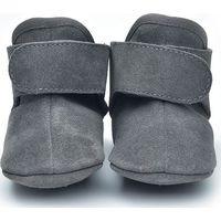 Lodger Leren Babyslofjes 12-15m Dark Grey