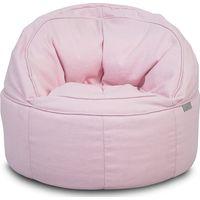 Jollein Kinderfauteuil Beanbag Rond Canvas - Vintage Pink