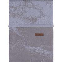 Baby's Only Dekbedovertrek 100x135 Marble - Cool Grey/Lila