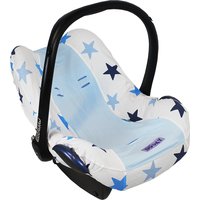 Dooky Seat Cover 0+ Autostoelhoes - Blue / Blue Stars