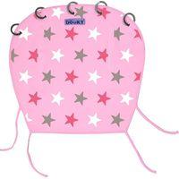 Dooky Universal Cover Design Zonnekap - Baby Pink/ Pink Stars