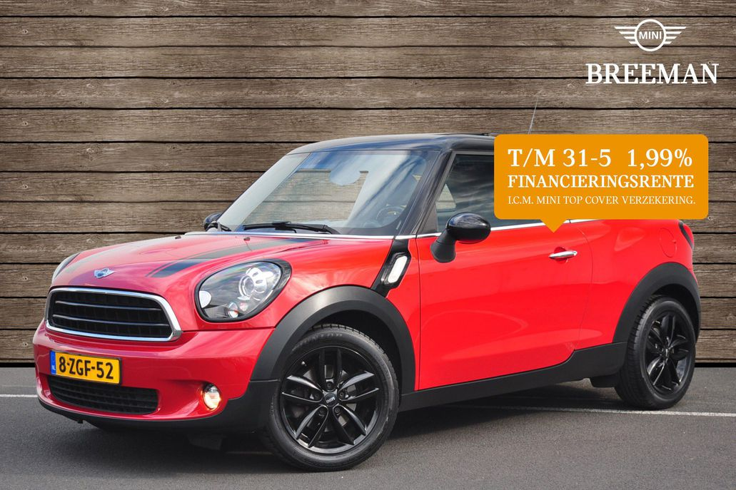 MINI Cooper Paceman Knockout Edition