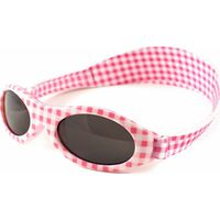 Baby Banz zonnebril Pink Checkers (UL)