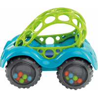 Oball Auto Rattle & Roll - Blauw