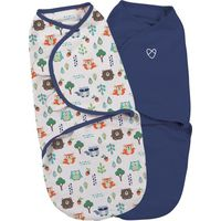 Swaddle Me Original Small Into The Woods 2-pack - Summer