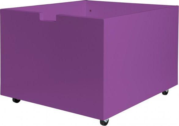 Bopita Speelgoedbak Op Wielen Voor Compactbed - Paars