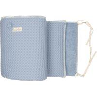 Koeka Bed- / Boxbumper Amsterdam Soft Blue