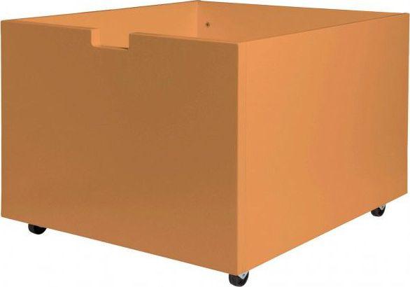 Bopita Speelgoedbak Op Wielen Voor Compactbed - Oranje