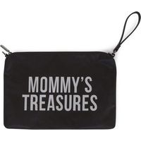 Childhome Mommy Clutch Bag - Black/Silver