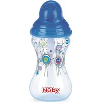 Drinkfles Met Rietje Click It Blauw - Nuby