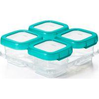 OXO Tot Vierdelige Set Diepvriesdoosjes (120 ml) - Teal