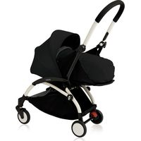 Yoyo+ White Frame met Newborn Pack - Black