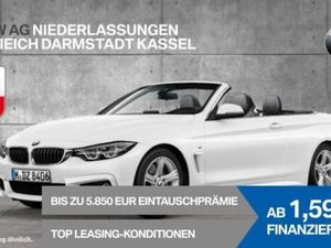 BMW 430 d Cabrio M Sportpaket Head-Up HiFi Nackenw