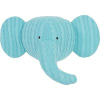 Jollein Dierenkop Elephant - Cable Jade