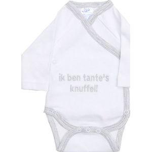 """Romper Met Tekst """"Ik Ben Tante's Knuffel""""- Petit Villian"""