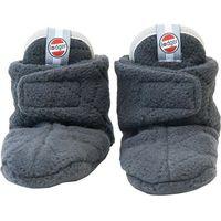 Lodger Slipper Fleece Scandinavian 0-3m Coal
