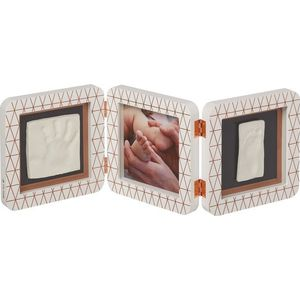 Baby Art My Baby Touch Double Print Frame - Copper