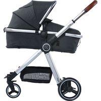 Titaniumbaby Kinderwagen Beeyu Comfy - Dark Grey