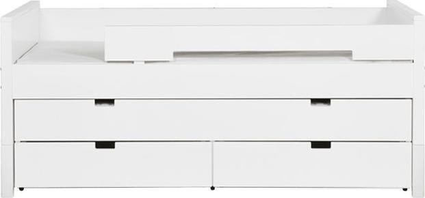 Bopita Combiflex Compactbed Met 3-Laden Unit - Wit