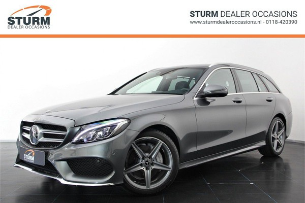 Mercedes-Benz C-Klasse Estate 180 AMG SPORT Ed. | FULL OPTION | Head-Up | BURMESTER | Luchtvering | Automaat | Leder | NP. € 61.700 | LED | Rijklaarprijs!