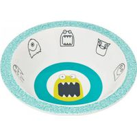 Lässig Melamine Kom - Little Monsters Bouncing Bob