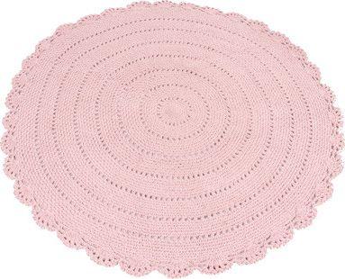 Comfortabel Vloerkleed Babykamer : Kidsdepot roundy vloerkleed pink bij babyhuis casita