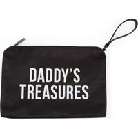 Childhome Daddys Clutch Bag - Black/White