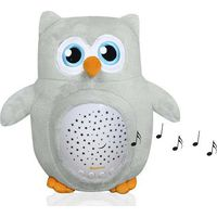 Baninni Projector Lamp Owl - Gray